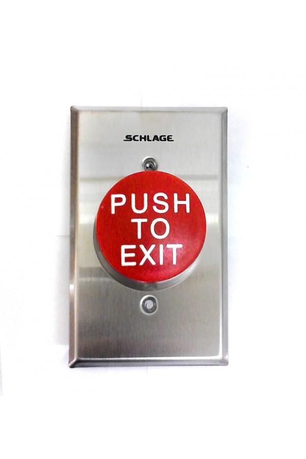 """Botón """"Push to Exit"""" PB623RDEX"""