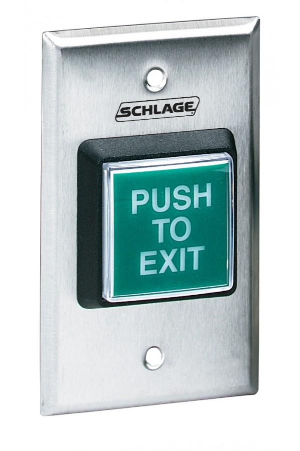 """Botón """"Push to Exit"""" PB709GREXILL"""