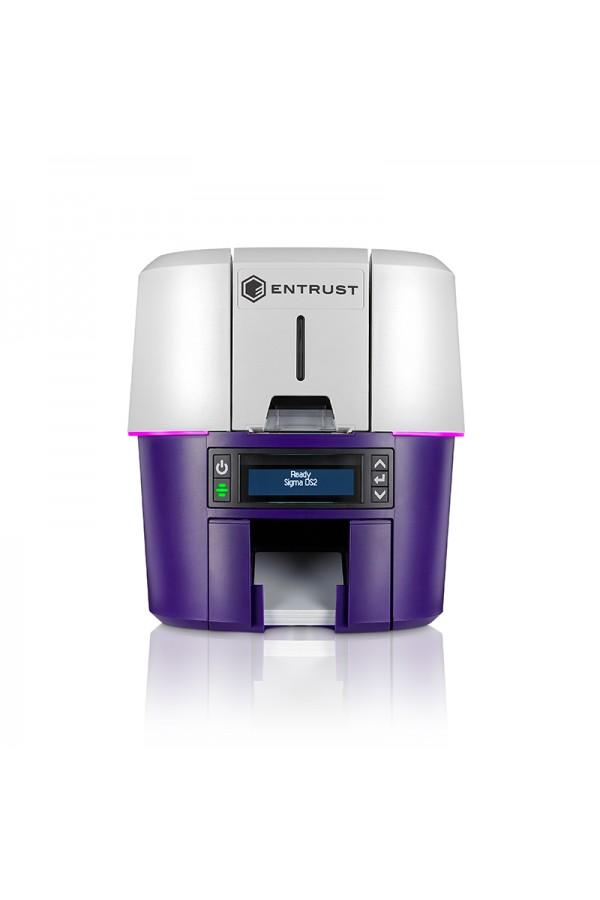 Impresora de Credenciales SIGMA DS2 Simplex de Entrust