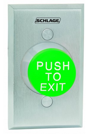 "Botón ""Push to Exit"" 623GR EX"