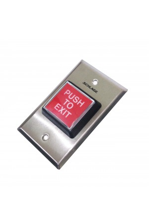 "Botón ""Push to Exit"" 709RD EX ILL"