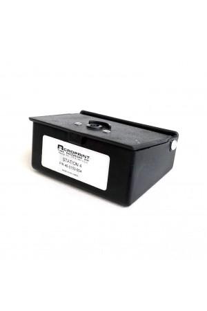 Caja de Estaciones No. 4 para Reloj de Vigilante Acroprint C-72