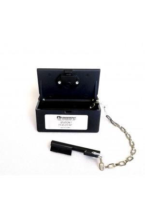 Caja de Estaciones No. 7 para Reloj de Vigilante Acroprint C-72