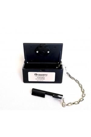 Caja de Estaciones No. 9 para Reloj de Vigilante Acroprint C-72