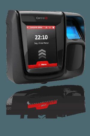 Control de Asistencia iDFlex, sensor de huella y lector 13.56 MHz Mifare