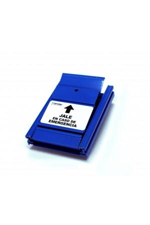 Palanca de emergencia azul CM-701SP