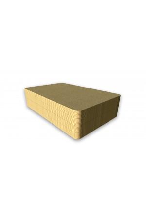Tarjetas PVC doradas