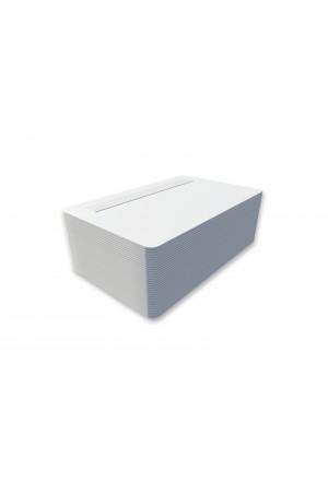 Tarjetas PVC blancas con pánel de firma posición superior